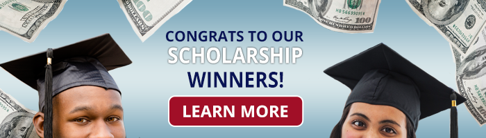 Congrats to our scholarship winners!
