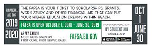 FAFSA ticket 2019-20