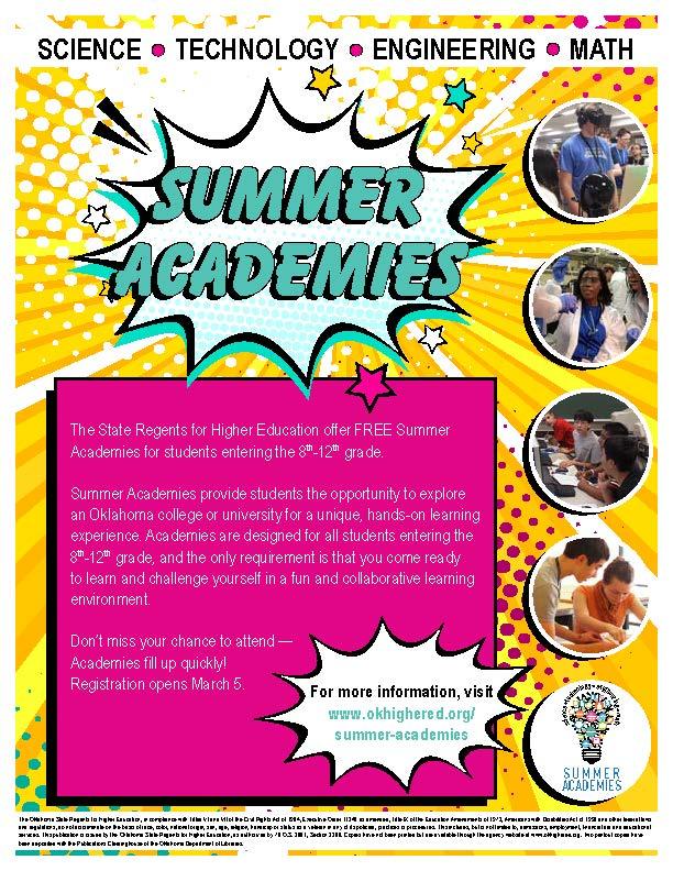 2021 summer academies